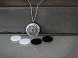 Stainless Steel Diffuser Necklace - Arrow Locket - The Oil Collection - 5