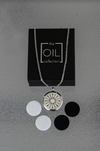 Stainless Steel Diffuser Necklace - Arrow Locket - The Oil Collection - 2