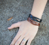 Pair of Braided Diffuser Bracelets -  - 3