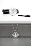 Stainless Steel Jewelry Set (Bracelet & Locket)