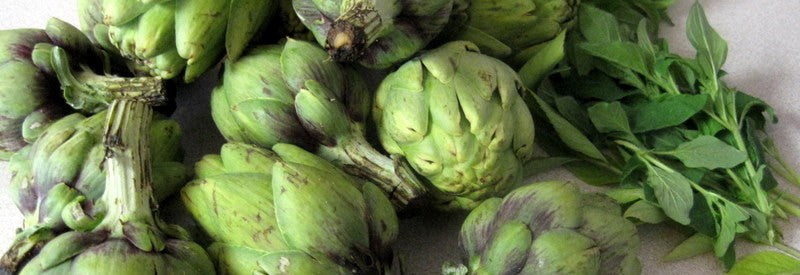 Conscious Cooking – Roasted Baby Artichokes