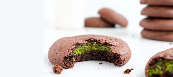 Healthy Matcha Holiday Cookie Recipe with Coconut Oil