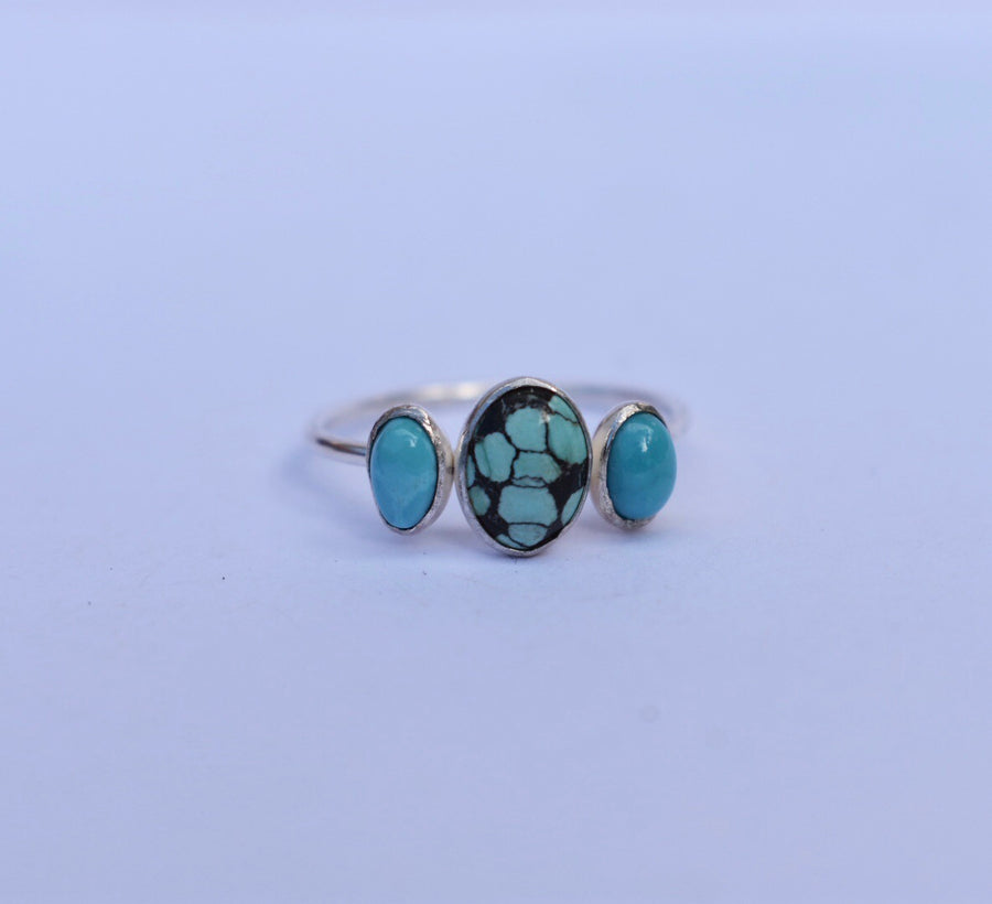 Stacker Turquoise Ring. Size 7.15