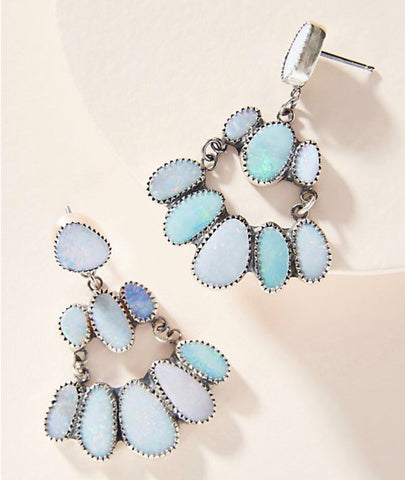 Opal Princess Earrings