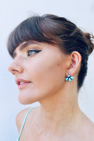 Kingman Turquoise India Earring