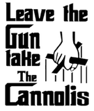 "Godfather: Leave the Gun Take the Cannolis https://www.mondomonsterwear.com/products/godfather-leave-the-gun-take-the-cannolis Some of the best advice came from The Godfather: ""Leave the Gun, Take the Cannolis"". Once you have that straight, you'll always be organized. Shirt. T Shirt. Don Coreleone. Al Pacino. Diane Keaton. Marlon Brando. Tessio. Abe Vigoda."