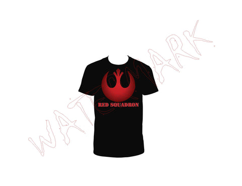 Star Wars: Red Squadron  https://www.mondomonsterwear.com/products/star-wars-red-squadron  Be a part of the Rebellion's elite raiding, Red Squadron. Show your true colors when you check in with your leader. Star Wars, Death Star. Shirt. death star. episode 4. a new hope.
