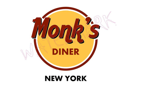 Seinfeld: Monks https://www.mondomonsterwear.com/products/seinfeld-monks Seinfeld. Jerry Seinfeld. Elaine Benes. George Costanza. Cosmo Kramer. Monk's Diner. Shirt. Tom's Restaurant.