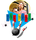 Big Lebowski: The Dude https://www.mondomonsterwear.com/products/big-lebowski-the-dude Bowling. Shabbat. Revenge. Rug. White Russians. The Dude. The Big Lebowski. Coen Brothers. John Goodman. Jeff Bridges. Steve Buscemi. Julianne Moore. shirt