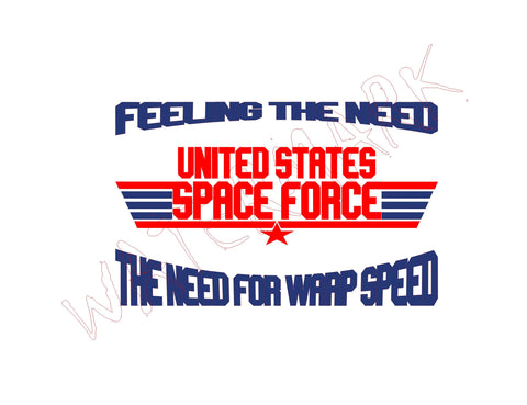 Space Force: Top Gun Need For Warp Speed