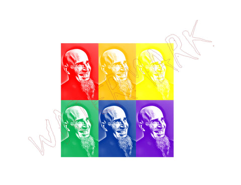 Scott Ian Anthrax Warhol Screen