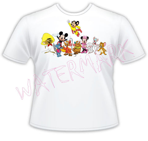 Cartoon Mice https://www.mondomonsterwear.com/products/cartoon-mice Cartoons, Mice, Mickey, Itchy and Scratchy, Mighty Mouse, The Simpsons, Pinky and the Brain, Speedy Gonzalez, Animation, Family Guy, The Flintstones, Garfield, Animation shirt.