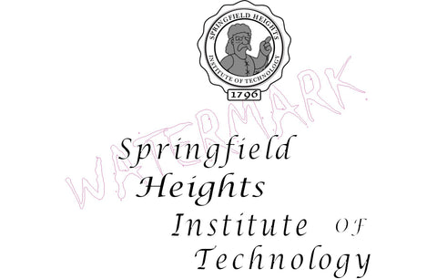 The Simpsons: Springfield Heights Institute of Technology  https://www.mondomonsterwear.com/products/the-simpsons-springfield-heights-institute-of-technology  Apu. Springfield Heights Institute of Technology. The Simpsons. Homer, Marge, Bart. Shirt. Tshirt. Springfield. Jebediah Springfield. A Noble Spirit Embiggins. Cromulent