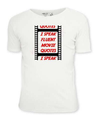 "I Speak In Fluent Movie Quotes  https://www.mondomonsterwear.com/products/i-speak-in-fluent-movie-quotes  Mash-up: ""2001: A Space Odyssey"" and Cheech and Chong's classic bit, ""Dave's Not Here, Man"". Shirt. Cheech Marin. Tommy Chong. That 70s Show . Hal. Great Scott. I am your father. You can't handle the truth. Movies. Quotes"