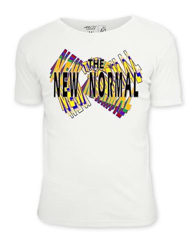 The New Normal  https://www.mondomonsterwear.com/products/copy-of-i-speak-in-fluent-movie-quotes  The New Normal, Shirt, Tee Shirt, T Shirt, Covid-19, Covid, Coronavirus, pandemic, quarantine, isolation, murder hornets, racial tensions, black lives matter, george floyd