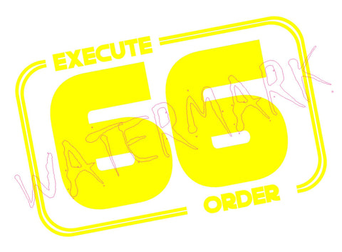 Star Wars: Execute Order 66  https://www.mondomonsterwear.com/products/star-wars-execute-order-66  Star Wars. Revenge of the Sith. Execute Order 66. Darth PlagueisShirt.