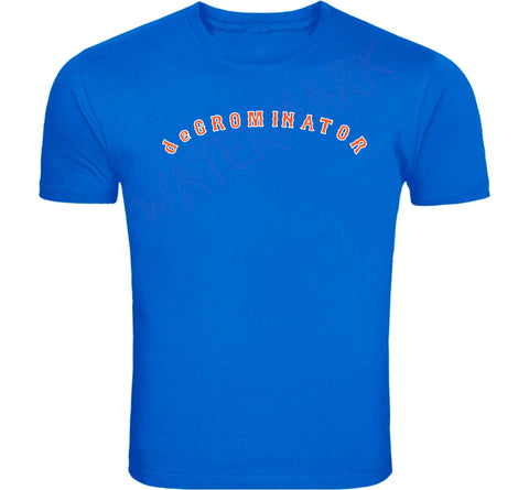 New York Mets: Jacob deGrom deGrominator  https://www.mondomonsterwear.com/products/new-york-mets-jacob-degrom-degrominator  Mets. Baseball. New York. Let's Go Mets. Let's Fucking Go Mets. Shirt. LFGM. degrominator. jacon degrom. cy young