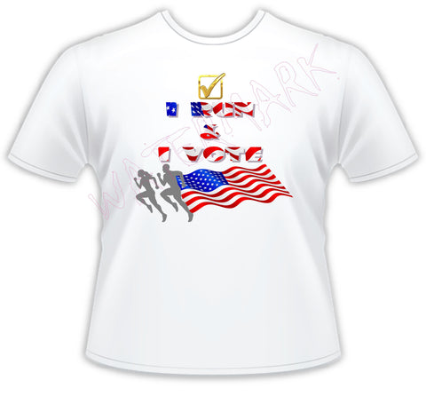 I Jog and Run and I Vote  https://www.mondomonsterwear.com/products/i-jog-and-run-and-i-vote  Shirt, new york marathon, runners, tcs new york marathon, marathon, race, jog, boomer esaison foundation. joe biden. donald trump. kamala harris. mike pence