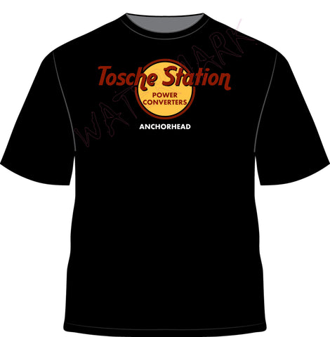 Star Wars: Tosche Station  https://www.mondomonsterwear.com/products/star-wars-tosche-station  Tatooine. Tattoine. Power Converters. Tosche Station. Luke. Jedi. Force. Shirt. Parody. Hard Rock Cafe