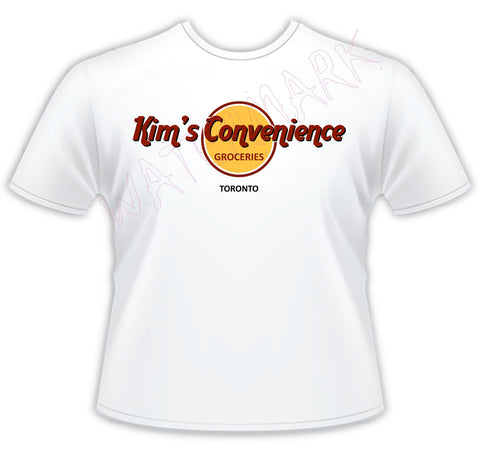 Kim's Convenience  https://www.mondomonsterwear.com/products/kims-convenience  Stop, Sneak Attack, Mr. Kim, Abba, Kim's Convenience, Janet, Canada, Toronto, Jung, Handy Car Rental, Shirt. Tshirt