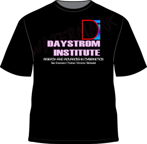 Star Trek: Daystrom Institute  https://www.mondomonsterwear.com/products/star-trek-daystrom-institute  Star Trek. Ship. Enterprise. Picard. Data. Brent Spiner. Android. Federation. Daystrom Institute. Maddox