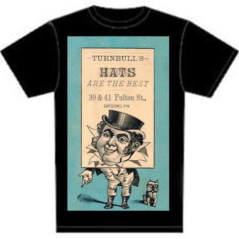 Historical Brooklyn: Turnbull Hats https://www.mondomonsterwear.com/products/historical-brooklyn-turnbull-hats Brooklyn, History, New York City, brooklynpix.com. Shirt
