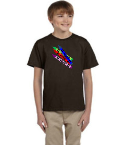 Crapola https://www.mondomonsterwear.com/products/crapola Crayons are a part of our life. Have a little fun with them with this humorous shirt that makes fun of them. Shirt. t shirt. tee shirt. tshirt