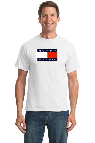 MILF: MOMMY MILFIGER https://www.mondomonsterwear.com/products/milf-mommy-milfiger Do you have a hot mom? Did your buds have a hot mom? Did you ever own a Tommy Hilfiger shirt? Pay tribute to that great mother with this shirt. milf. mother i'd like to fuck.