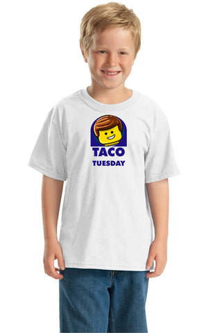 Taco Tuesday https://www.mondomonsterwear.com/products/taco-tuesday Everything is awesome when it's Taco Tuesday. Pay tribute to The Lego Movie with this great shirt and enjoy some tacos. Taco Bell, Grande, Taco Joes. Shirt.
