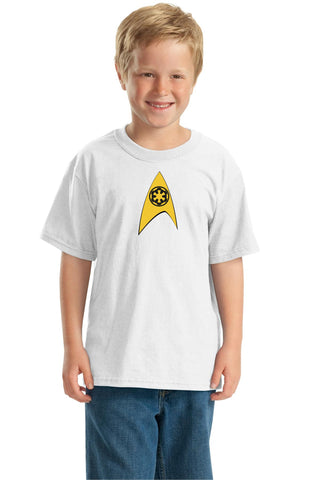 Star Trek Empire https://www.mondomonsterwear.com/products/star-trek-empire Star Wars, Star Trek. Dark Side. Imperial. Empire. Shirt. T Shirt. Tee Shirts.