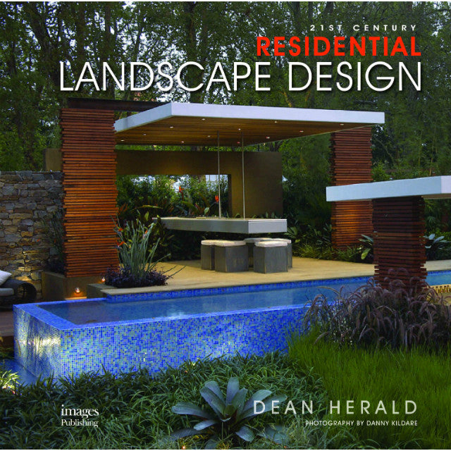 Landscape and garden design images publishing for Modern house design books