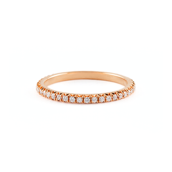 Jado Rose Provence -  Eternity Ring