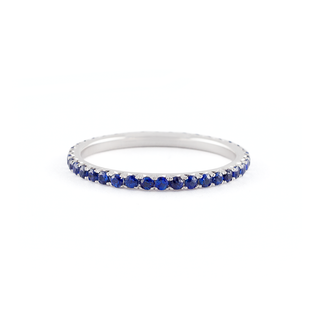Jado Luminosity - Sapphire Eternity Ring