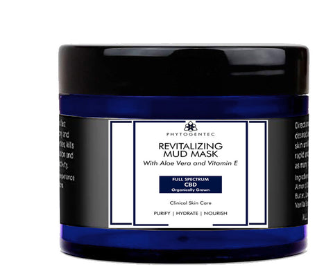 Phytogentec : Revitalizing CBD Facial Mud Mask - 2 oz.