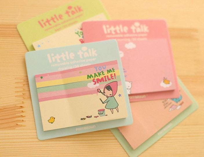 Little Talk Sticky Notes - MIMO Pencil Case Shop  - 1