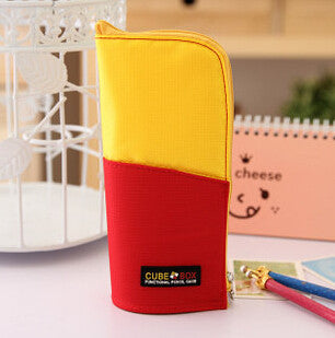 Cube Box Standing Pencil Case Holder - MIMO Pencil Case Shop  - 7