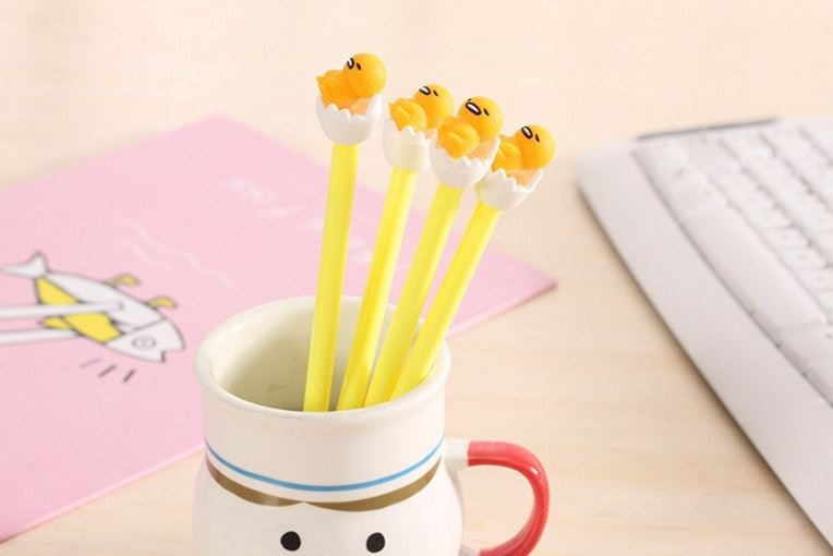 Gudetama Chick and Egg Fine Tip Pen - MIMO Pencil Case Shop  - 1