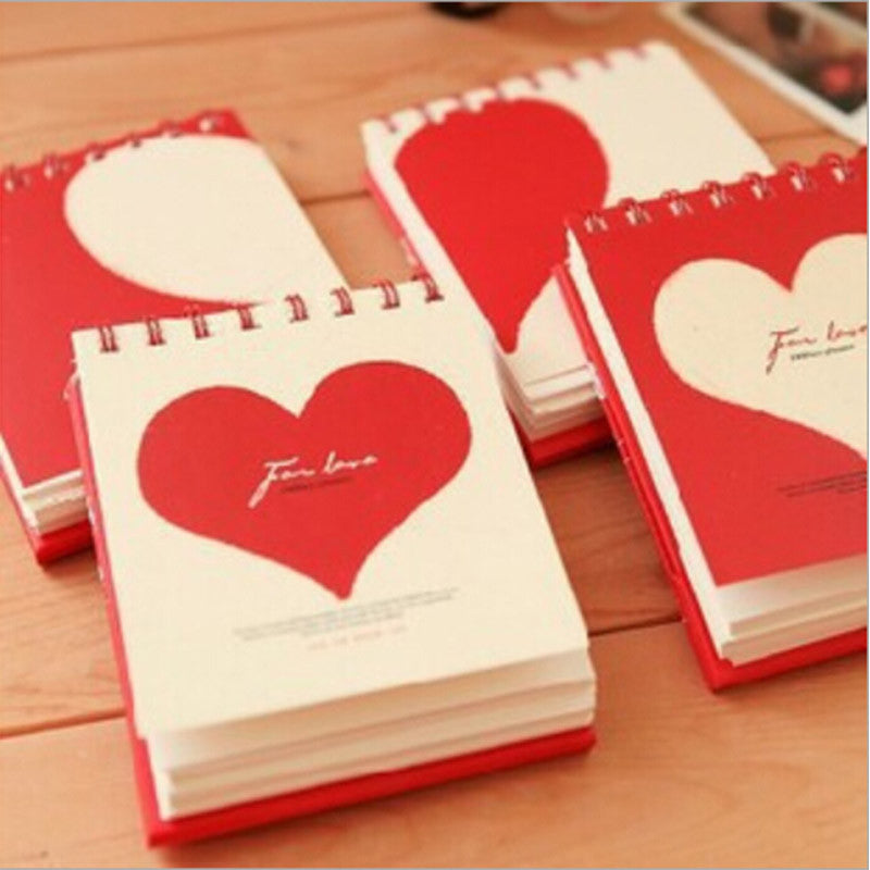 Love Collection: Mini Heart Notepad - MIMO Pencil Case Shop  - 1