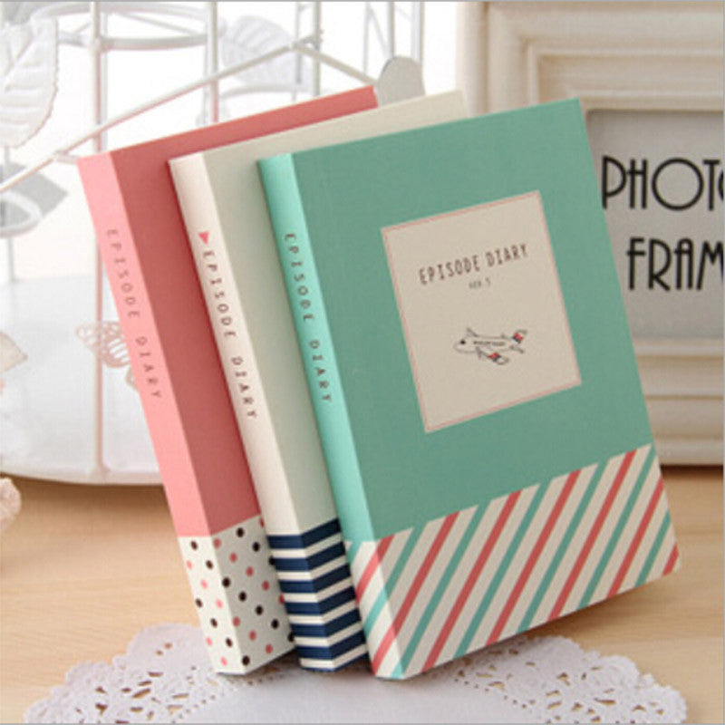 Episode Colorful Thick Notebook Diary