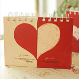Love Collection: Mini Heart Notepad - MIMO Pencil Case Shop  - 2
