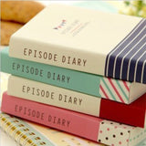 Episode Colorful Thick Notebook Diary - MIMO Pencil Case Shop  - 3