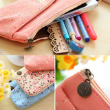 Flower Garden Pencil Pouch - MIMO Pencil Case Shop  - 6