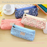 Flower Garden Pencil Pouch - MIMO Pencil Case Shop  - 1