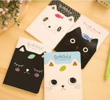 Cat & Fish Mini Notepad - MIMO Pencil Case Shop  - 1