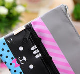 Double Zipper Cat Pencil Case - MIMO Pencil Case Shop  - 2