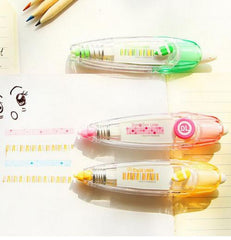 Dots & Stripes Deco Correction Tape - MIMO Pencil Case Shop  - 1