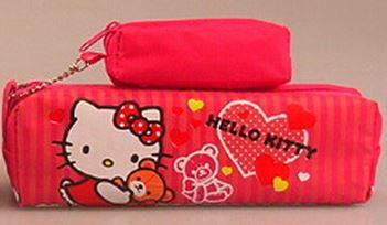 Hello Kitty 2 in 1 Pencil Pouch