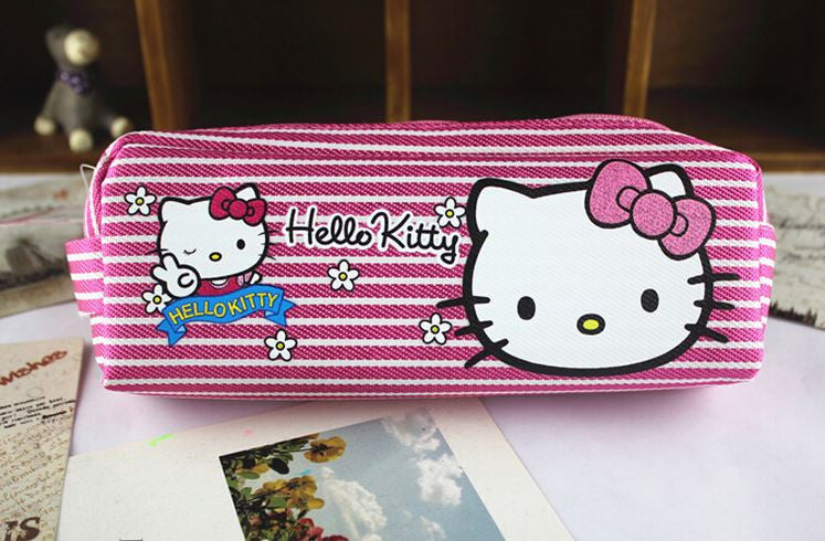Hello Kitty Canvas Pencil Bag - MIMO Pencil Case Shop  - 1