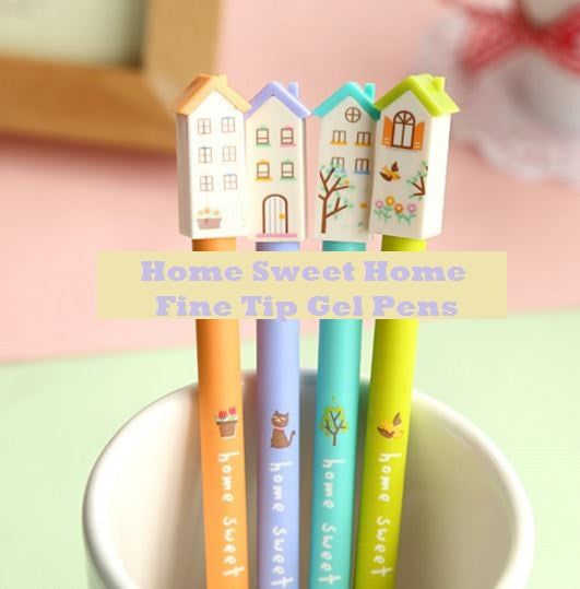 Home Sweet Home Fine Tip Gel Pen - MIMO Pencil Case Shop  - 1