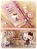 Hello Kitty Clear Pencil Bag Set - MIMO Pencil Case Shop  - 1